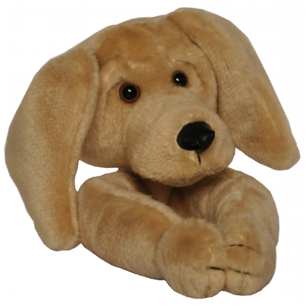 Curtain Critters ALYWLB021208TOY Plush Best Friends Yellow Lab Curtain Tieback T