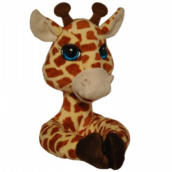 Curtain Critters ALBYGF080909TOY Plush Safari Giraffe Curtain Tieback Toy CRCR005