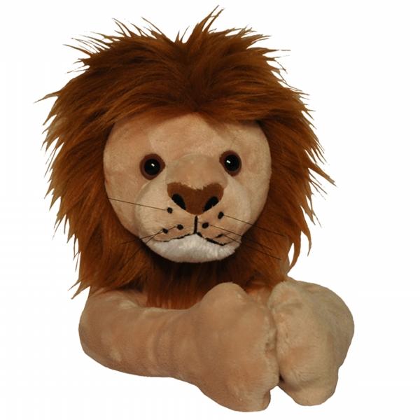 Curtain Critters ALBNLN130909TOY Plush Safari Brown Lion Curtain Tieback Toy
