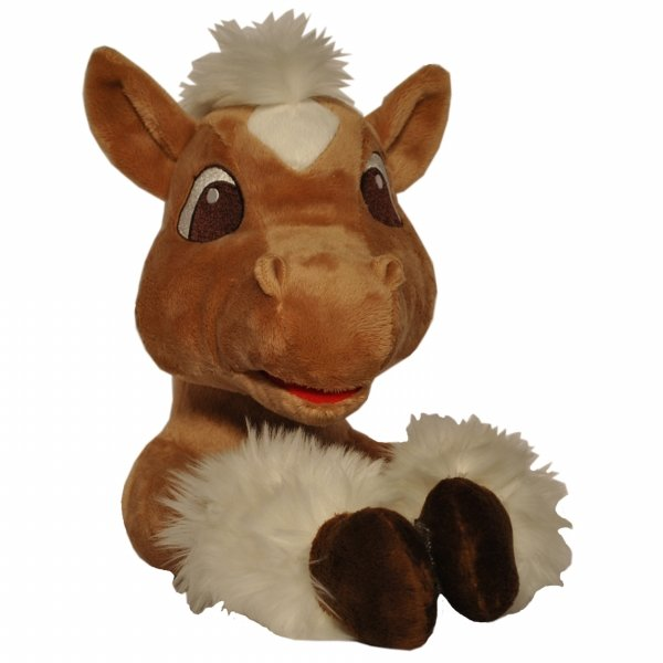 Curtain Critters ALBNPY090909TOY Plush Barnyard Pony Curtain Tieback Toy