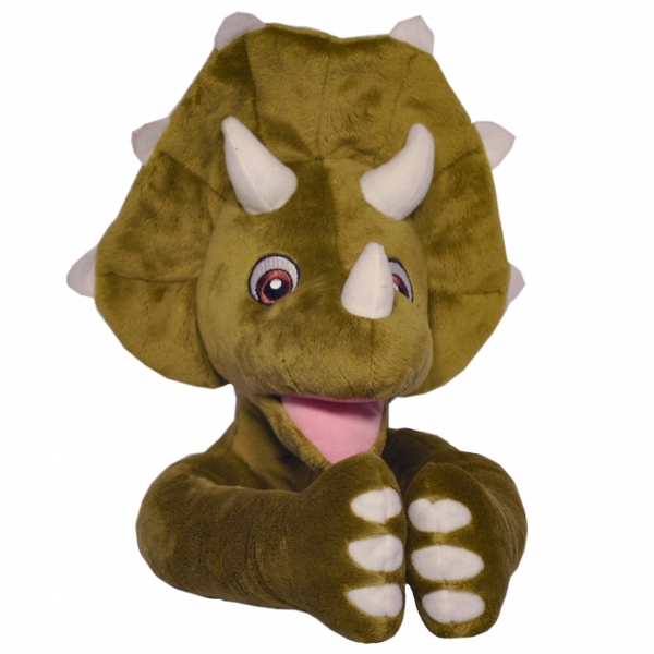 Curtain Critters ALGNTD050809TOY Plush Triceratops Dinosaur Curtain Tieback Toy