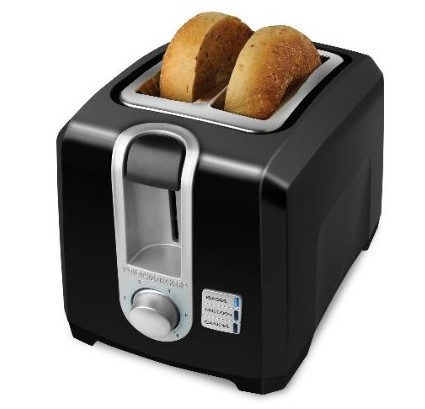 Applica T2569B B&D 2 Slice Toaster Black