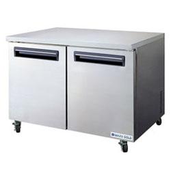 MaxxCold MCF48U 48 in. Undercounter Freezer