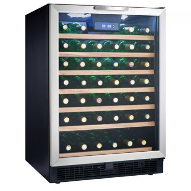 Danby DWC508BLS 50 Bottle- Built-in or Freestanding Wine Cooler