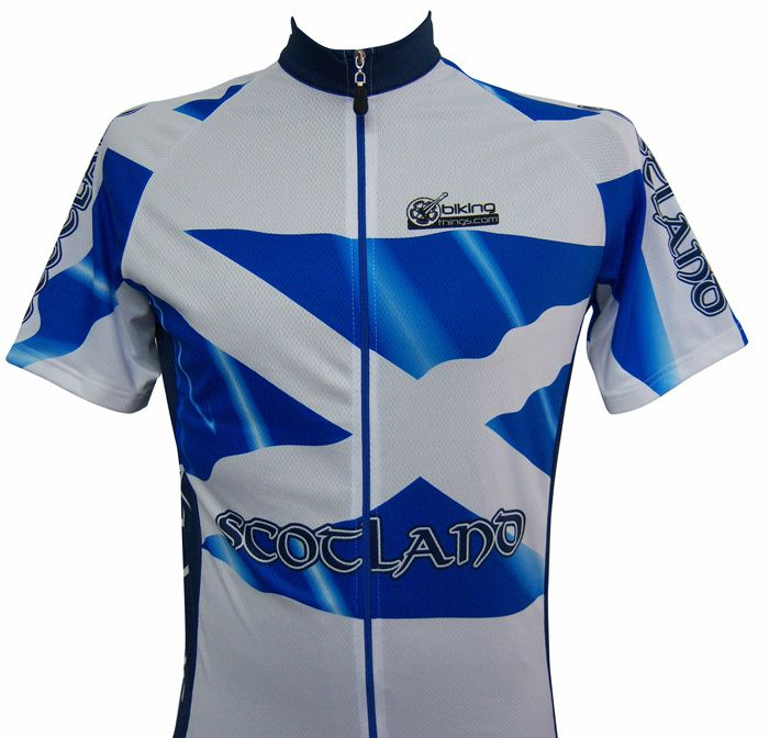 Bikingthings scottjersM Scotland Flag Bike Jersey