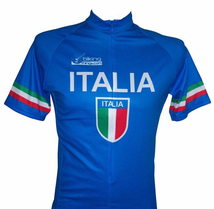 Bikingthings italiajerXXXL Italia Bike Jersey- Italy Cycling Shirt - Size XXXL