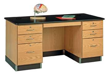 Diversified Woodcraft 1131K Desk-Teacher-60X30X30