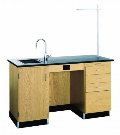 Diversified Woodcraft 1216K-L Desk-Instr-60X30X36 with Fix