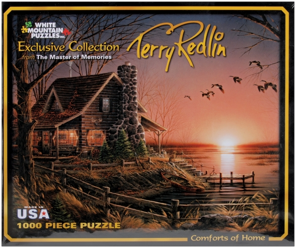 White Mountain Puzzles WM515 Terry Redlin Collection Jigsaw Puzzle 1000 Pieces 24&quot;X30