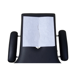ReliaMed ZZR158SLT ReliaMed Headrest Paper Sheets 12 Inch x 24 Inch with slit 1-000 Per Case