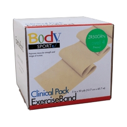 Body Sport BDS50GRN Body Sport Exercise Bands