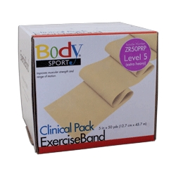 Body Sport BDS50PRP Body Sport Exercise Bands