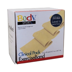 Body Sport BDS50BLK Body Sport Exercise Bands