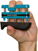 Fabrication Enterprises FAB244BL Cando Digi-Flex Finger Exerciser