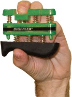 Fabrication Enterprises FAB244GRN Cando Digi-Flex Finger Exerciser