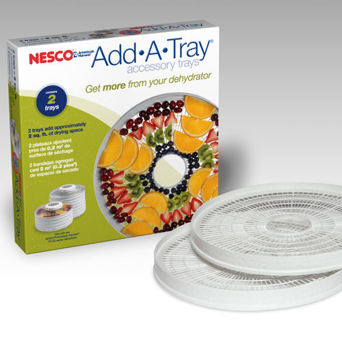 Nesco American Harvest WT-2SG Add-A-Tray for FD-37- Set of 2