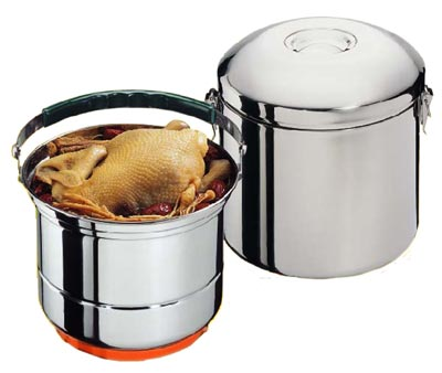 Sunpentown CL-033 8 Stainless Steel Stove-Top Thermal Cooker
