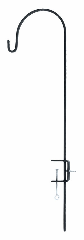 Image of Achla TSW-02 Adjustable Deck Pole Powder Coated - Black