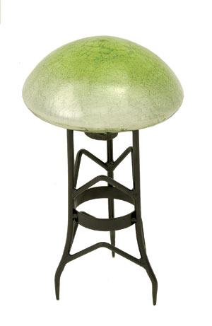 Achla TS-LG-C Garden Toad Stool - Light Green Crackle
