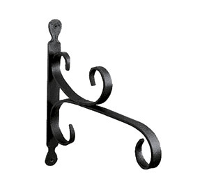 Achla B-27 Purpose Bracket Garden Hook - Black Powdercoated