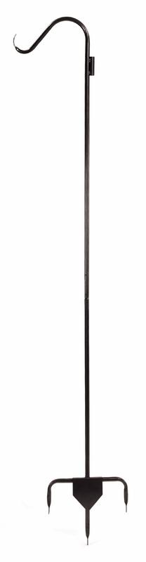 Single Pole Heavy Duty Garden Hook - Graphite Powdercoat