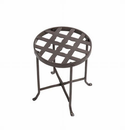 Achla FB-21 Flowers Plant Stand I - Roman Bronze Powder Coated