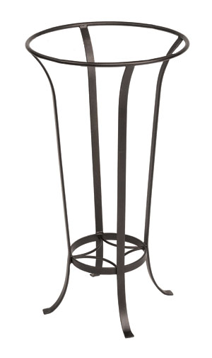 Achla FB-19 Tulip Stand Patio Accent - Roman Bronze Powdercoat