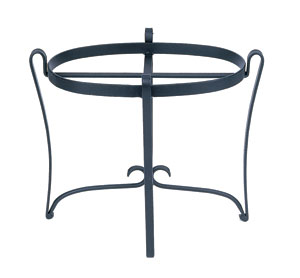 Wrought Iron Stand - Oval