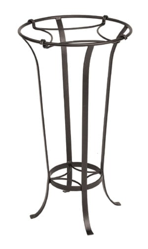 Achla FB-20 Tulip Plant Stand Patio Accent - Roman Bronze Powdercoat