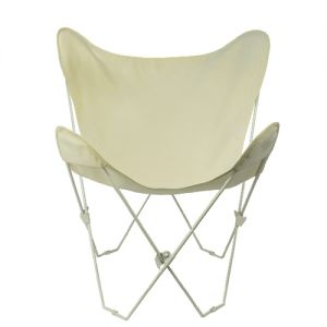 Algoma 405200 Butterfly Chair and Cover Combination with White Frame