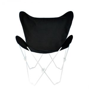 Algoma 405257 Butterfly Chair and Cover Combination with White Frame