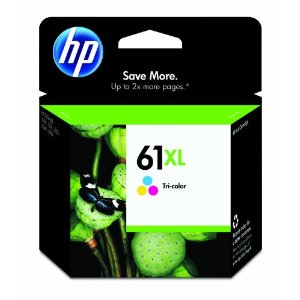 DBL CH564WN#140 HP No 61XL Ink Cartridge Hi-Cap Tri Col DeskJet 1000