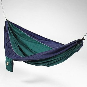 Kings Pond KingsPond  10202-KP Blue And Green Hammaka Parachute Silk Hammock at Sears.com