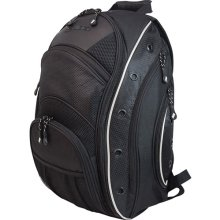 Mobile Edge MEEVO1 16 in. EVO Laptop Backpack-Black with Silver Trim