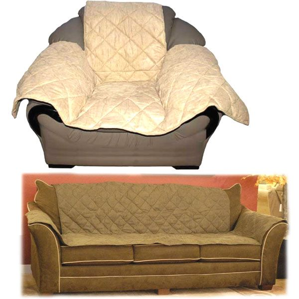 K & H 7820 Furniture Cover Couch Tan