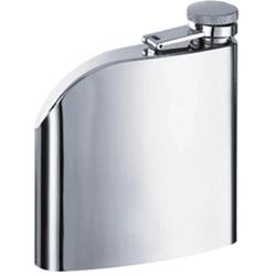 Visol VF1120 Curve Stainless Steel 6oz Hip Flask