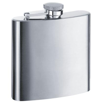 Visol VF1131 Derek Premium Stainless Steel 6oz Hip Flask