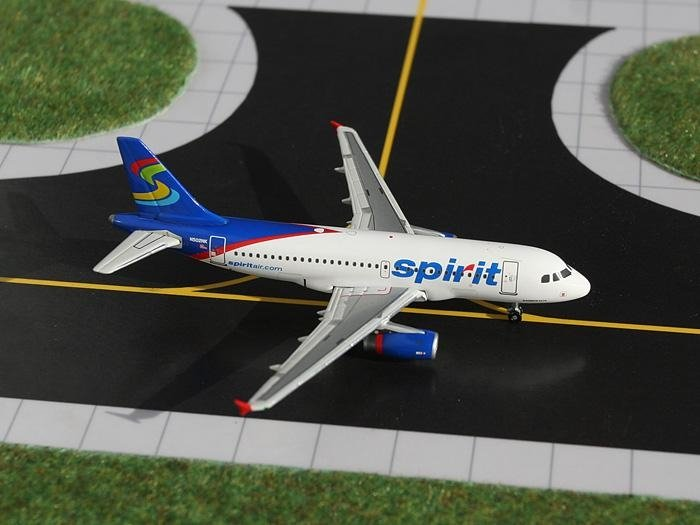 IDT Jets ST037 Spirit Airlines New Colors A319 1 100 scale