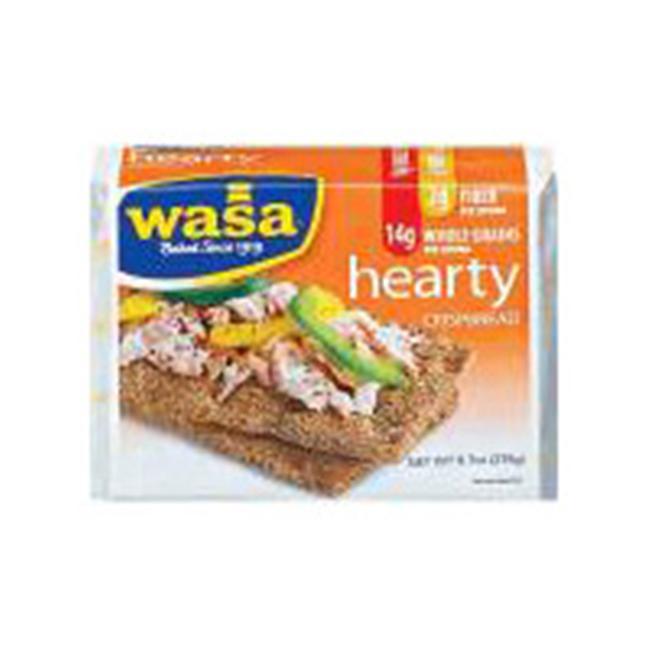 Wasa Crispbread 25656 Hearty Rye Crispbread