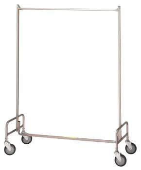R & B Wire 704 48 in. Single Garment Rack