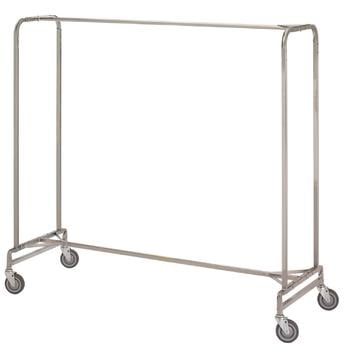 R & B Wire 721 72 in. Single Garment Rack