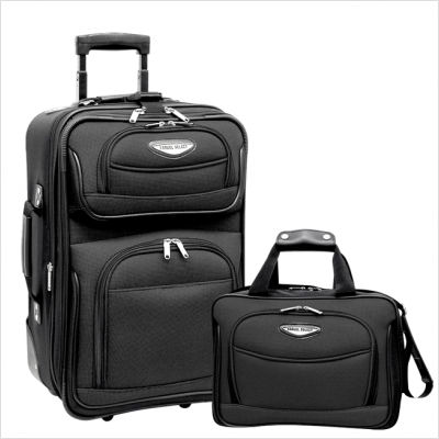 Traveler's Choice® TS6902G Amsterdam 2 Piece Carry-On Luggage Set in Gray at Sears.com