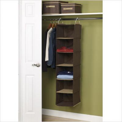 Home Essentials 66012 6 Shelf Organizer
