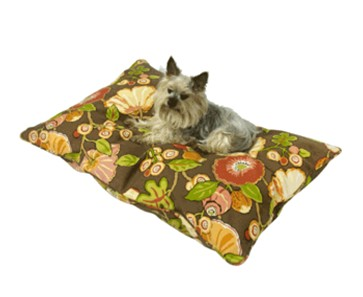 Happy Hounds Pet Products 10125L Chocolate Bosco Outdoor Dog Bed- Large- 36 x 48 in.- Chocolate
