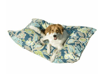 Happy Hounds Pet Products 10125L POOL Bosco Outdoor Dog Bed- Large- 36 x 48 in.- Pool