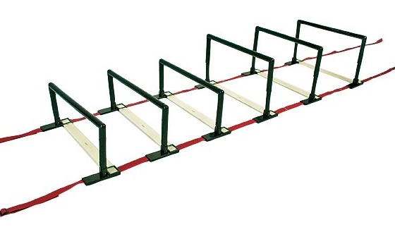J Fit 10-3073 Adjustable Step Hurdle Ladder