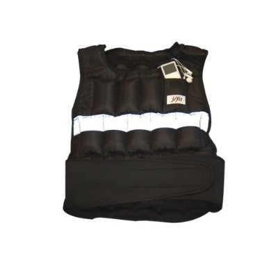 J Fit 10-6300 J Fit Adjustable Weighted Vest 30 lb