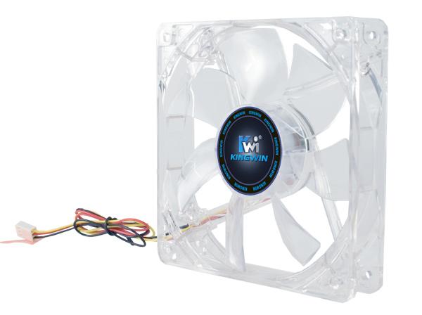 Kingwin CFBL-08LB 80 X 80 Mm Long Life Bearing Led Case Fan
