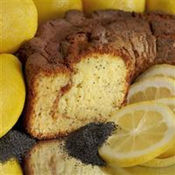 My Grandma LPLGCL Large- 10 in.- 3.1 lbs Lower Fat Lemon Poppy Coffee Cake