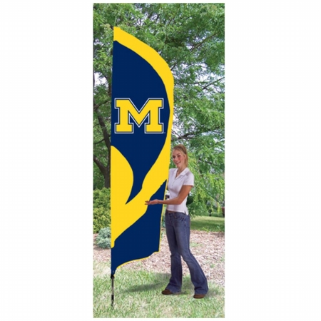 Party Animal 142162 Michigan Wolverines Tall Nylon Team Flag